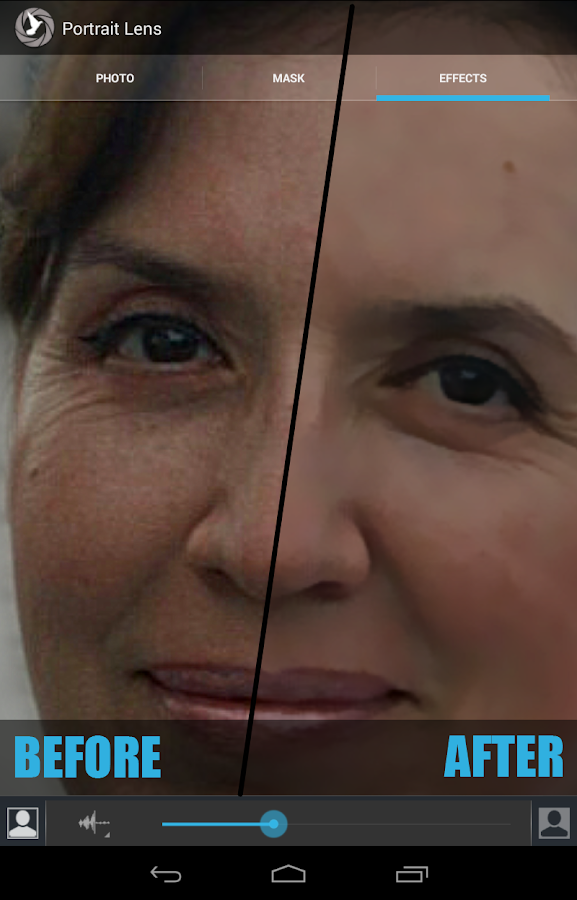 Portrait Lens- screenshot