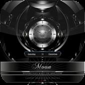 MOON beautiful clock widget