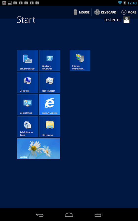 2X Remote Desktop Client - screenshot