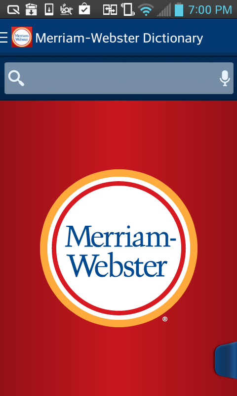 Dictionary - M-W Premium- screenshot