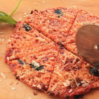 Extra-Crispy Bar-Style Tortilla Pizza