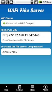 WiFi File Server Pro- screenshot thumbnail
