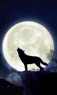 Howling Wolf Live Wallpaper - screenshot thumbnail