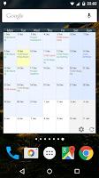Screenshot of Touch Calendar