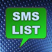 SMS List