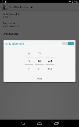 玩免費書籍APP|下載Daily Bible Inspirations app不用錢|硬是要APP