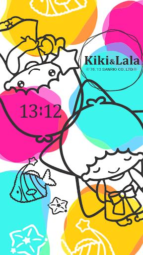 [キキ&ララ]キラキラ☆オーシャンライブ壁紙