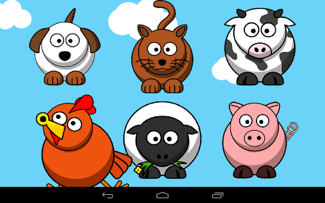 Baby Tap Animal Sounds Free- screenshot thumbnail