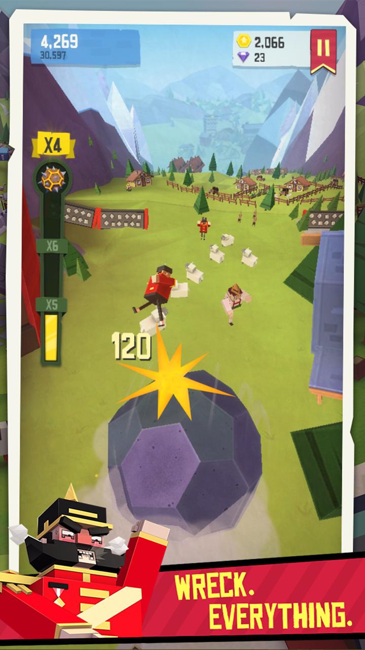 Giant Boulder of Death screenshot #3