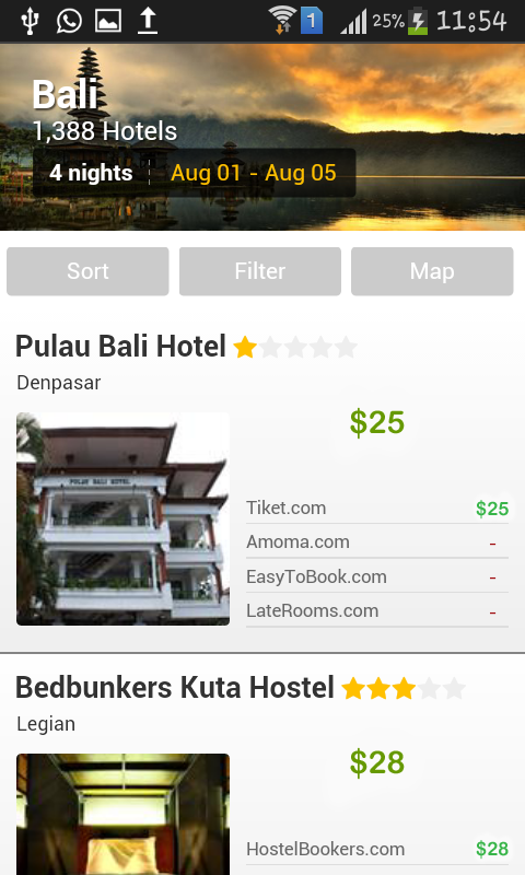 Uyora:Hotel's Booking.Save 80%- screenshot