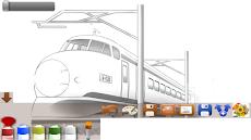 大人の塗り絵電車 Androidアプリ Applion