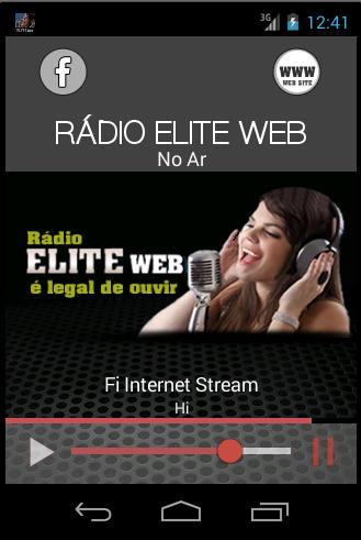 RÁDIO ELITE WEB