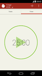 Concentrato Pomodoro Timer- screenshot thumbnail