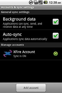 XFire Sync - screenshot thumbnail
