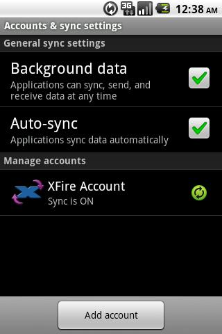 XFire Sync - screenshot