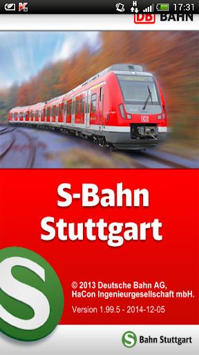 Navi S-Bahn Stuttgart
