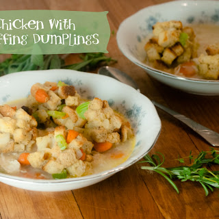 Chicken and Stuffing Dumplings for #WeekdaySupper