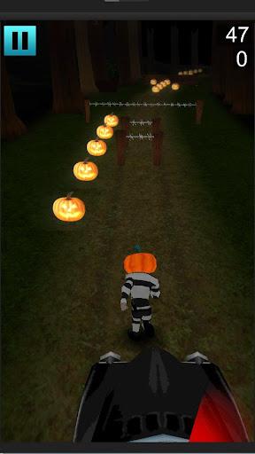 Pumpkin Head Halloween Runner