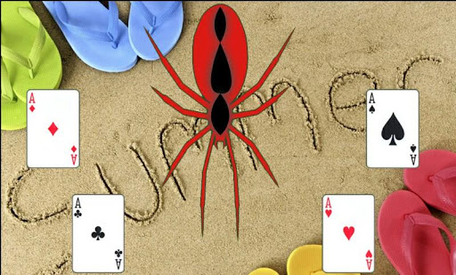 Summer Spider Solitaire Game