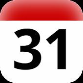 UK Holidays Calendar Widget