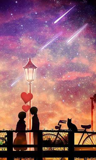 星空のキス
