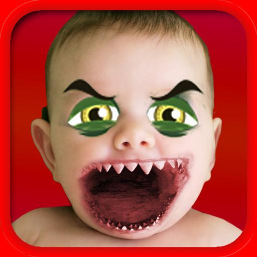 娱乐の醜い顔ブース:面白い効果 LOGO-記事Game