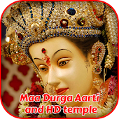 Maa Durga Aarti And 3D Temple