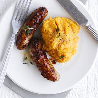 Sausages And Sweet Potato Mash Recipes.