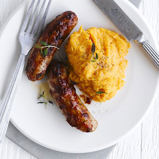 Sausages And Sweet Potato Mash Recipes.