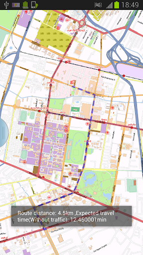 Shanghai Offline Map Routing