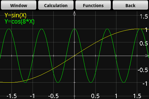 Graphoid Graphic Calculator- screenshot