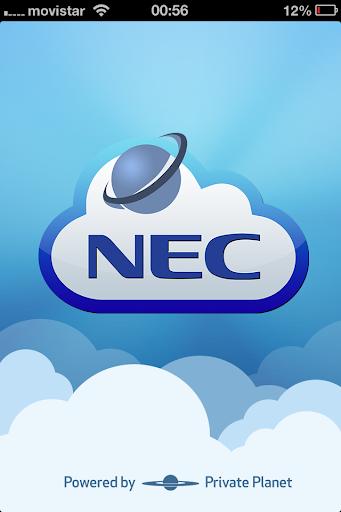 NEC myCloudPlanet