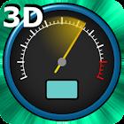 Velocímetro 3D Live Wallpaper icon