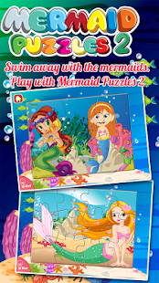 Mermaid Princess Puzzles- screenshot thumbnail