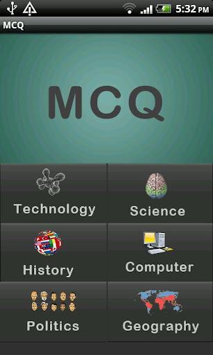 Multiple Choice Questions MCQ