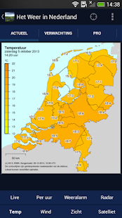 Het Weer in Nederland - screenshot thumbnail