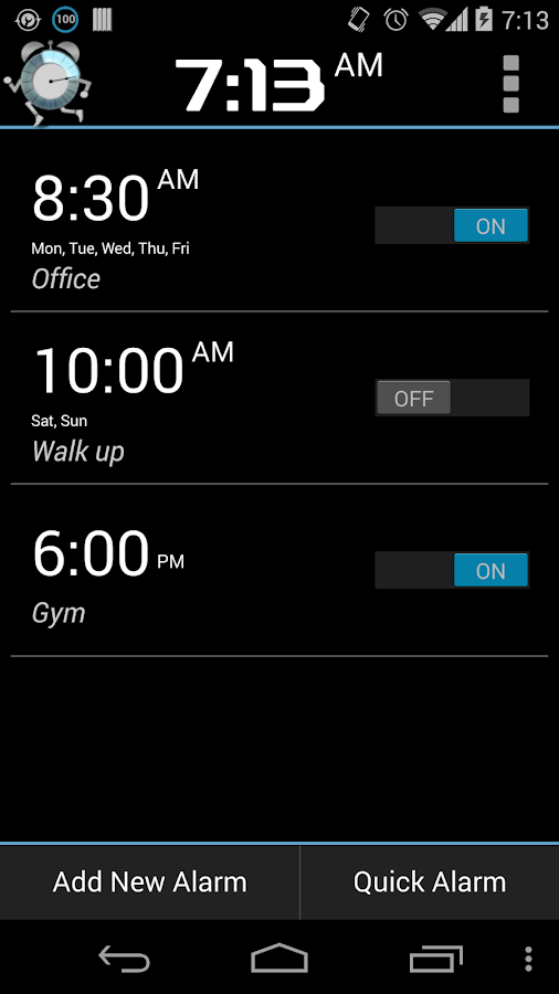 Walk Me Up! Alarm Clock PRO- screenshot