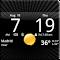 Smoked Glass Clock Widget 4.5.0 Apk