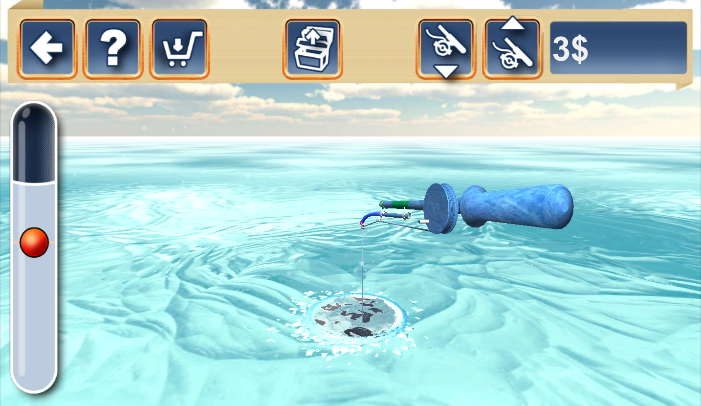 Fishing in the Winter. Lakes.- screenshot