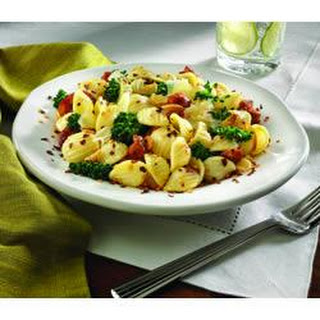 Orecchiette Pasta with Rappini and Sausage.