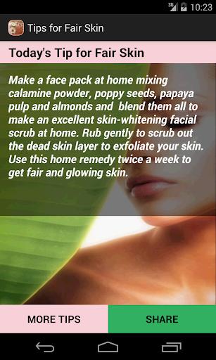 Beauty Tips for Fair Skin