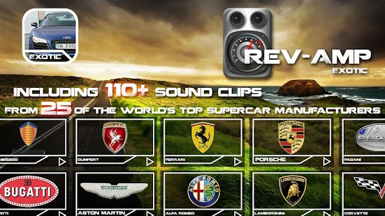 Rev-Amp: Exotic Car Sounds - screenshot thumbnail