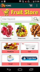 Fruit Store screenshot 1