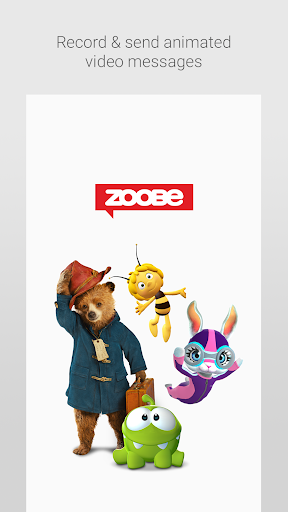 Zoobe - 3D animated messages
