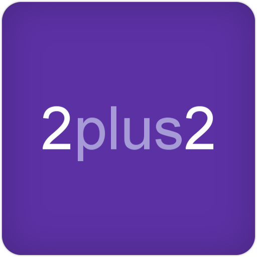2plus2 Number Puzzle LOGO-APP點子
