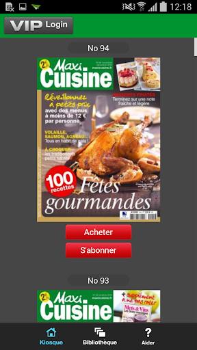 Maxi Cuisine Magazine