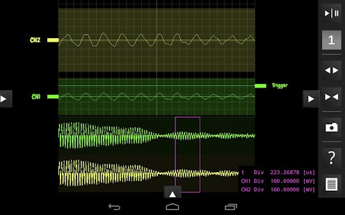 OsciPrime Oscilloscope - screenshot thumbnail