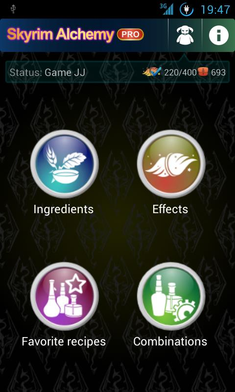 Skyrim Alchemy FREE - screenshot