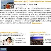 NYC SUV Limousine Service