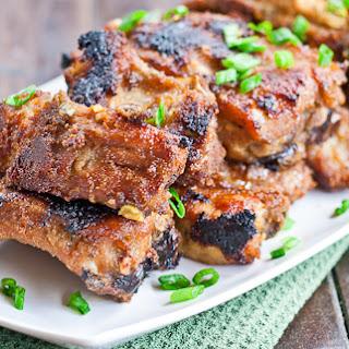 Korean BBQ Ribs.